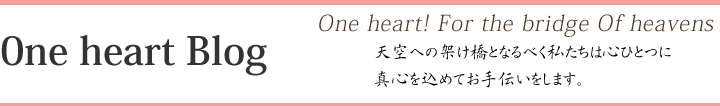One Heart Blog